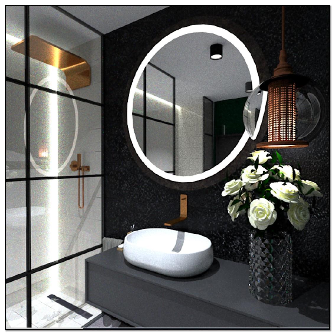 łazienka z kabiną prysznicowaą
