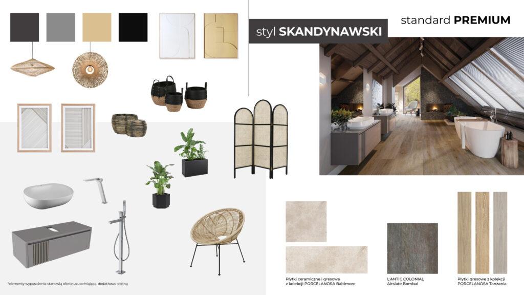 Moodboard styl skandynawski