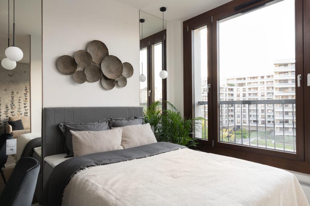 Mieszkanie typu studio z wydzieloną sypialnią