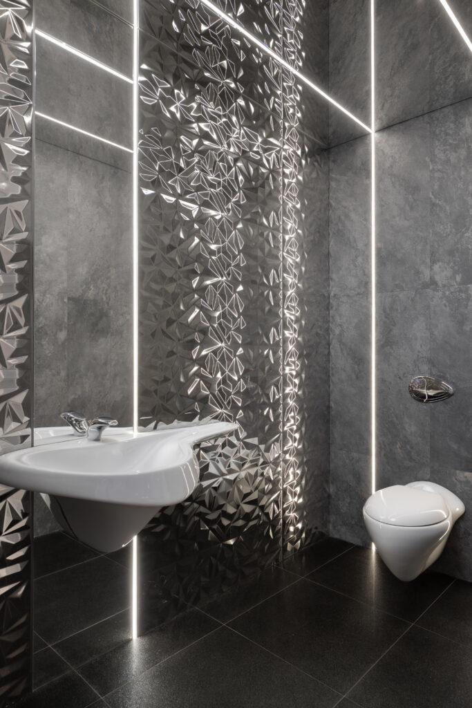 toaleta z efektem wow