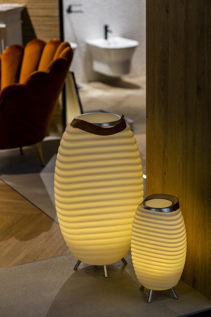 futurystyczne lampy